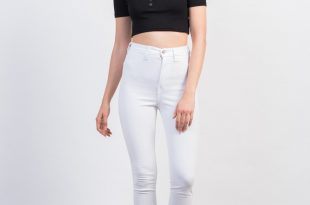 ... front view of super soft high waisted pants ... ZUUYKPN