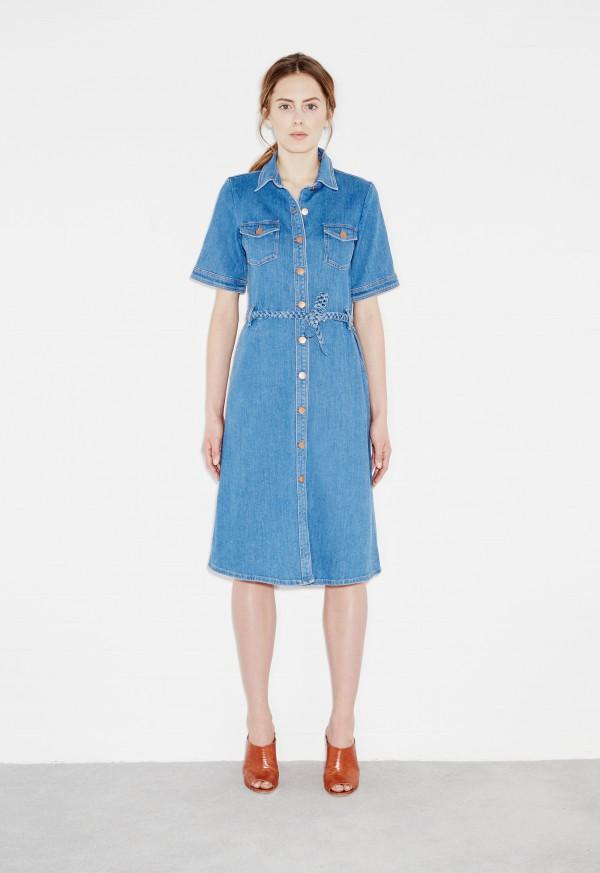 ... m.i.h 70s denim dress - 79 blue UFKWTMS