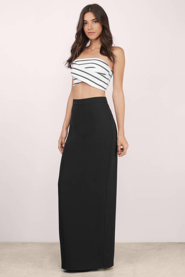 ... making it count black maxi skirt ... OGUQPQN