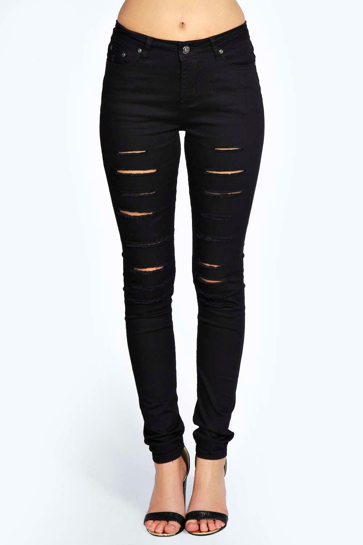 ... ripped skinny jeans. hover to zoom WJVFJQE