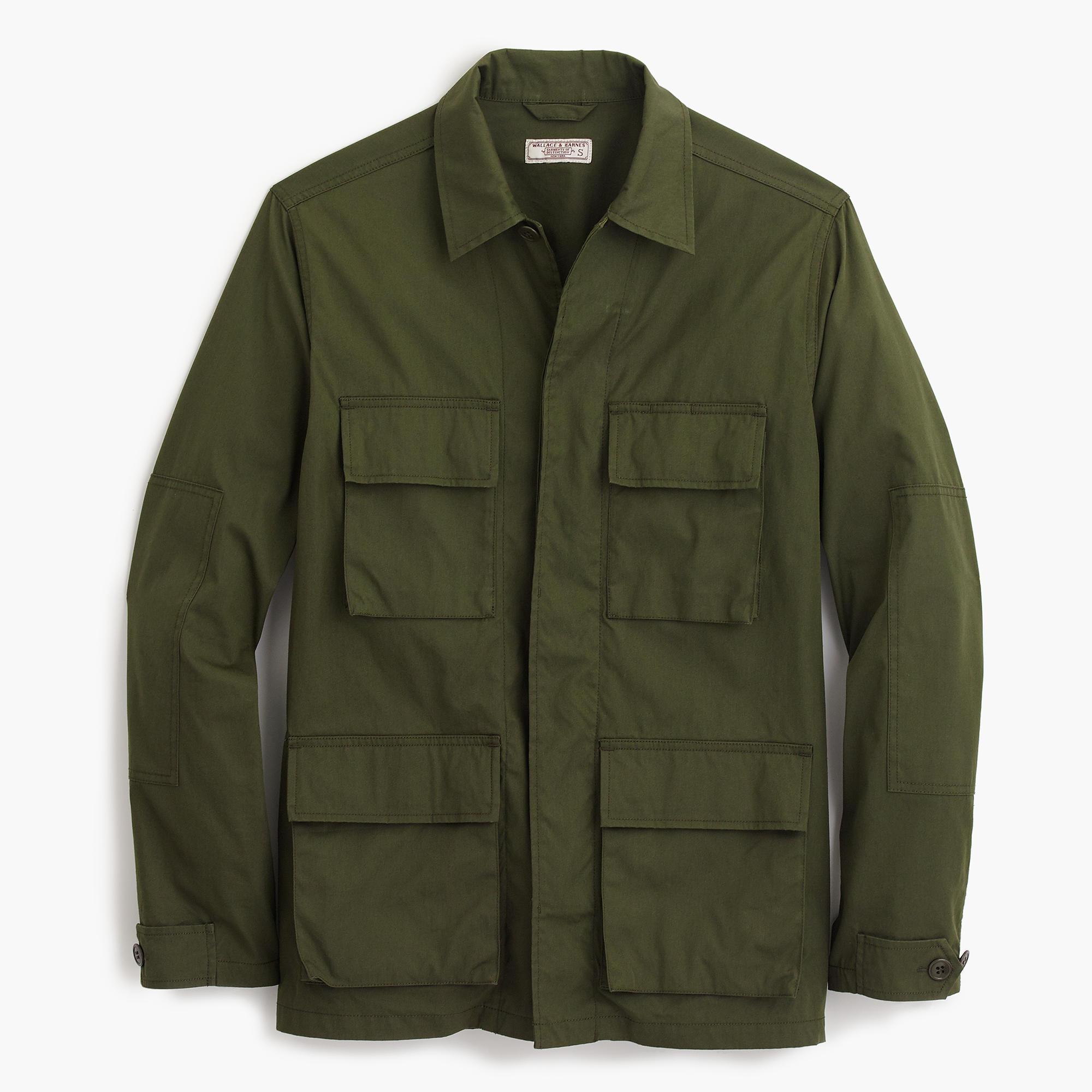 ... wallace - barnes lightweight military jacket FNBBRAM