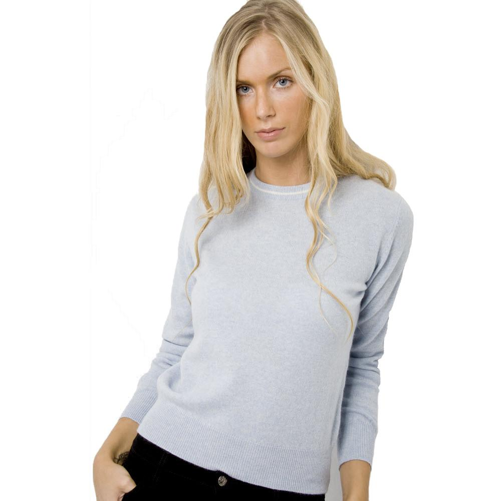 ... womenu0027s crew neck cashmere jumpers baby ... RPJWFTO