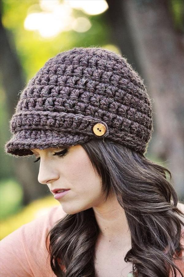 10 easy crochet hat patterns for beginners GKXCMBA
