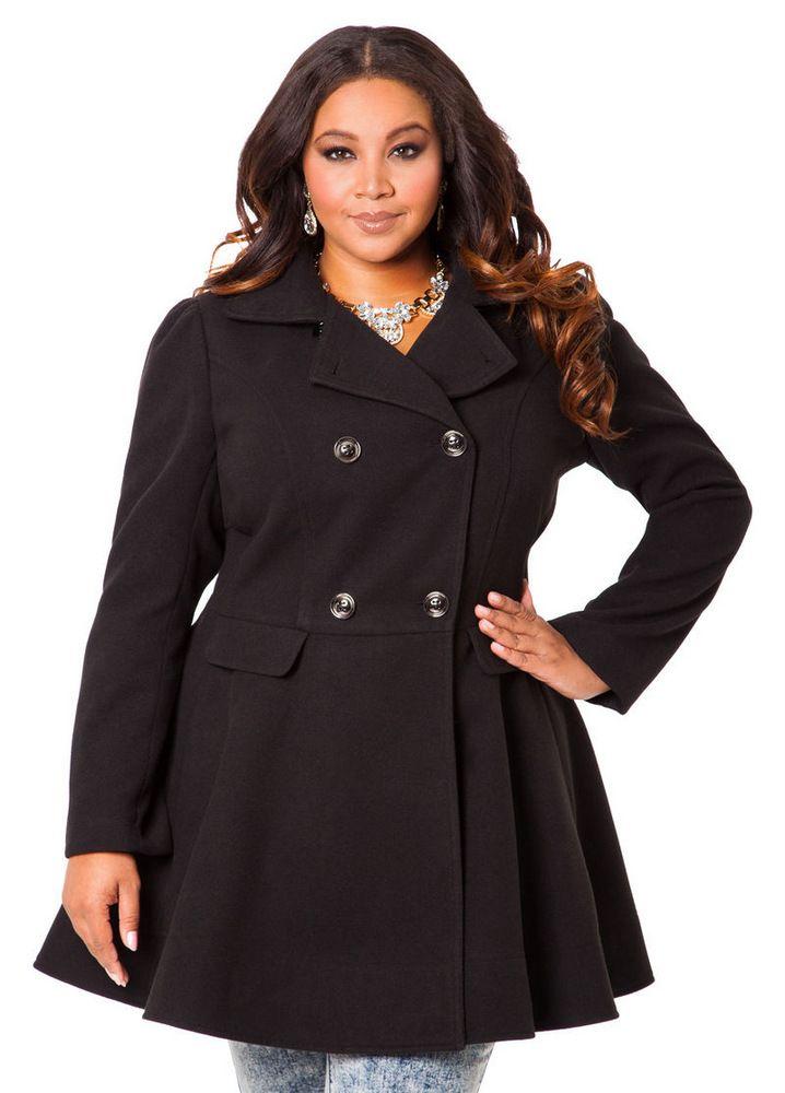 10 perfectly polished plus size coats under $150 WGINAZM