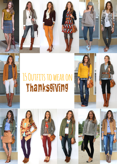15 thanksgiving outfits for every occasion | babble TJEHDIO
