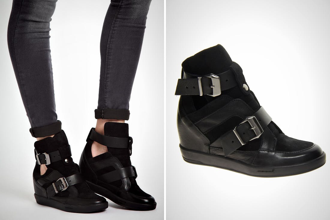 17 hidden-wedge sneakers | brit + co AEBSTPZ