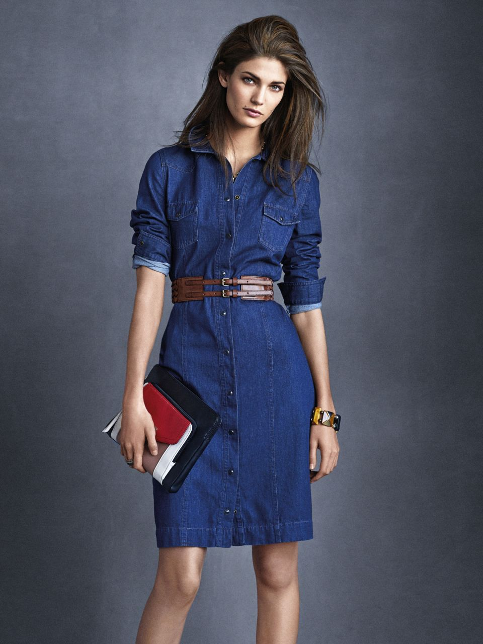 The exciting world of denim dress