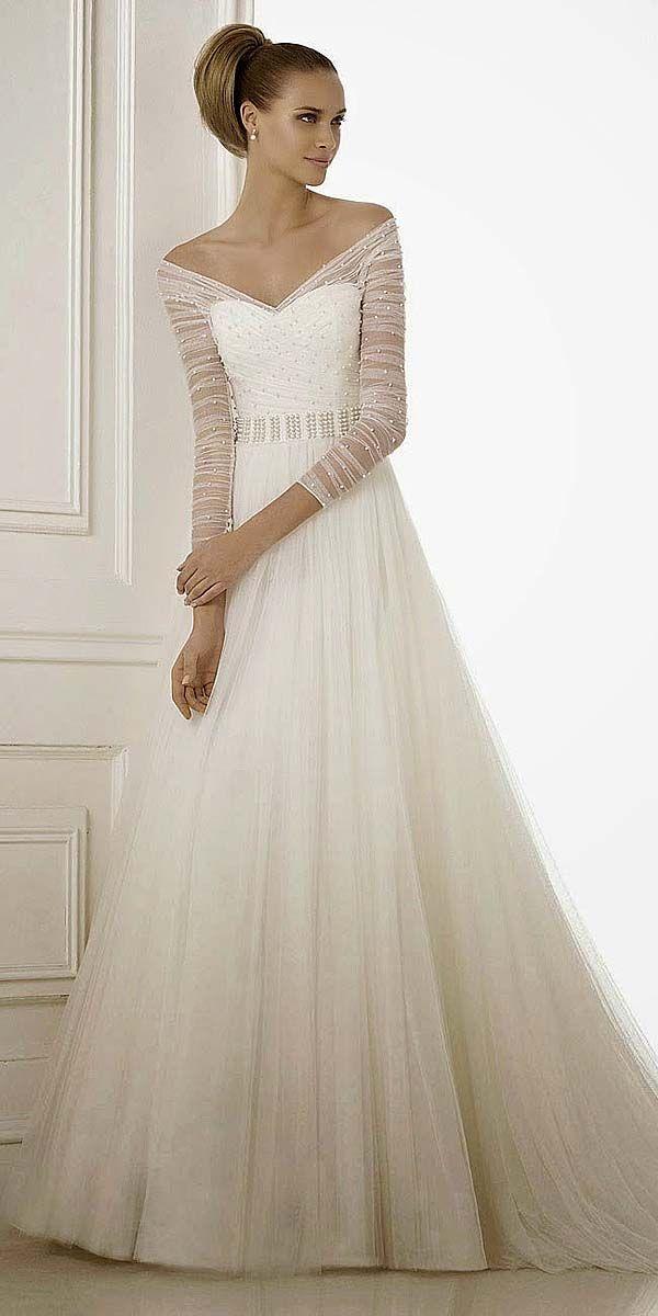25+ best long sleeved wedding dresses ideas on pinterest | long sleeve  wedding, sleeved PUHAIDR