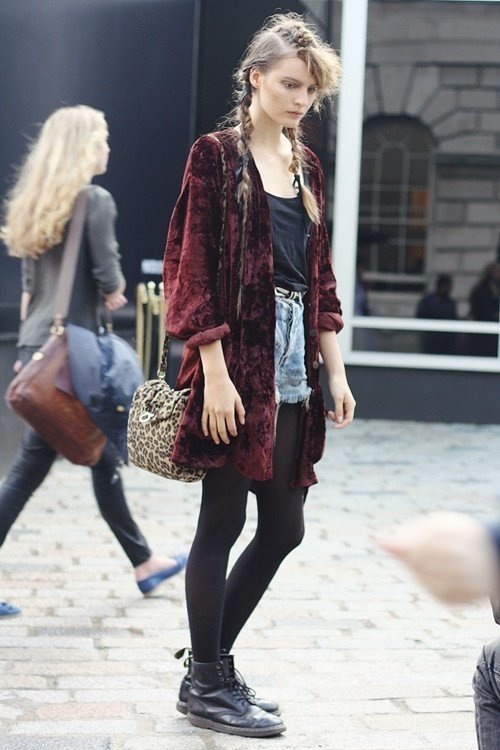 25 cute grunge fashion outfit ideas to try this season VDCVOQU