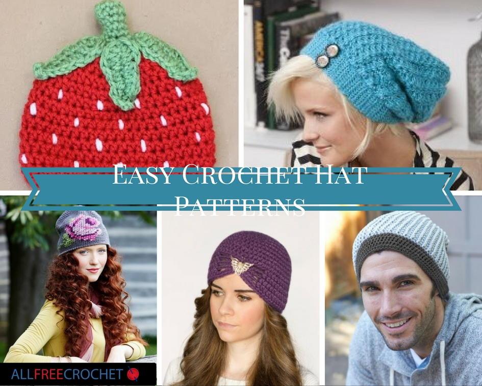29 easy crochet hat patterns EIDWEOV