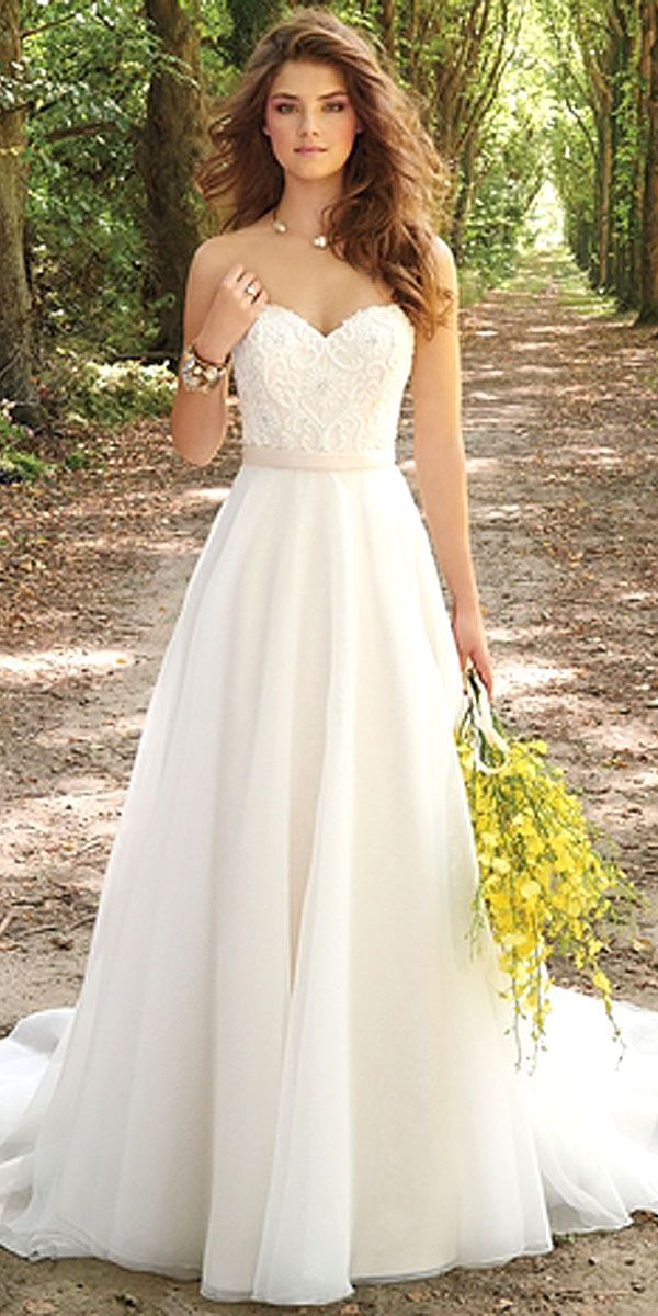 30 simple wedding dresses for elegant brides FEJDTTK