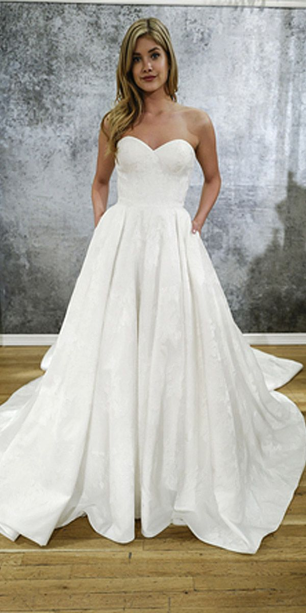 30 simple wedding dresses for elegant brides UIENXZP