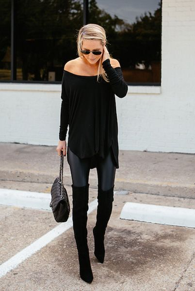 30 ways to wear over the knee boots NGEDJES