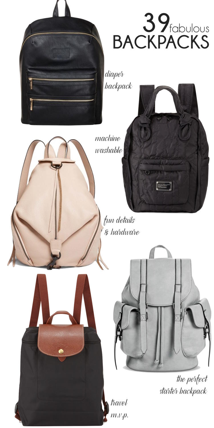 39 of the most stylish backpacks for moms (or anyone!) // lovelyluckylife WUCCUOL