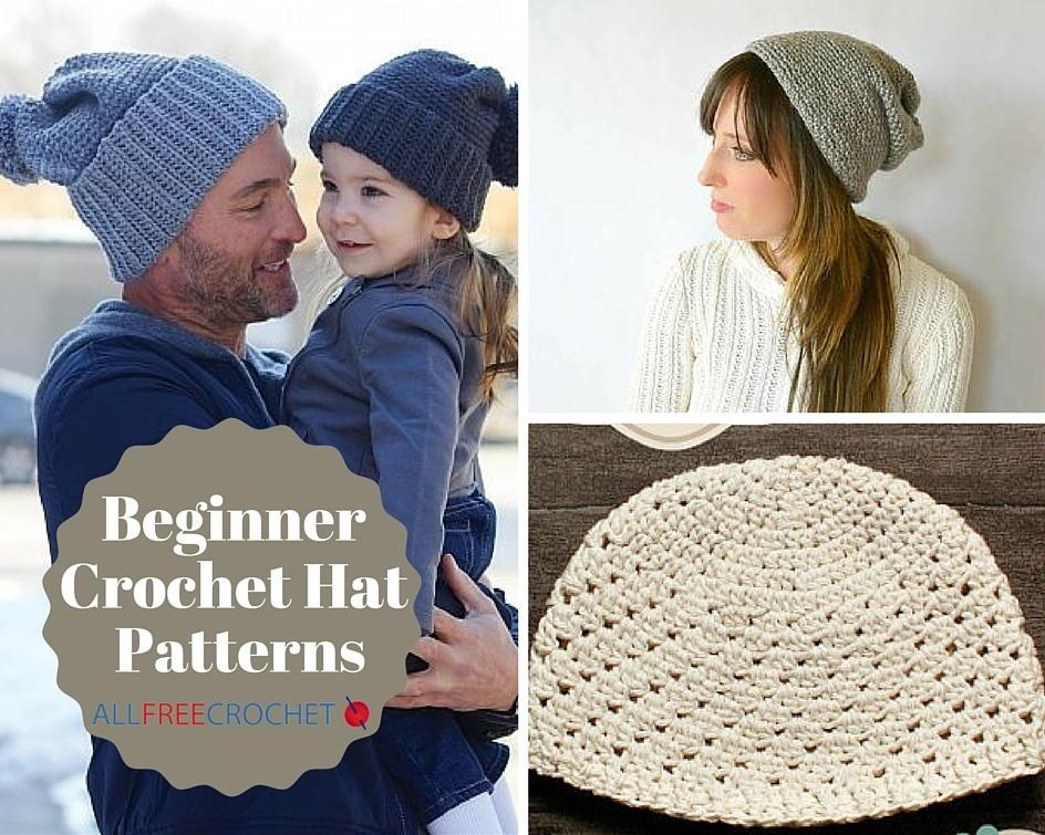 50 beginner crochet hat patterns | allfreecrochet.com GHZLJBA