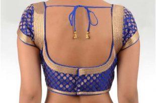 7 banarasi designer blouses designs | banarasi silk saree, back design CMXGFJM