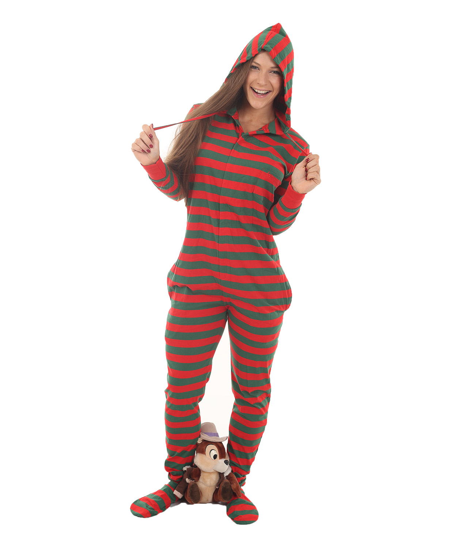 adult footed pajamas elfie adult onesie QVLPQMU