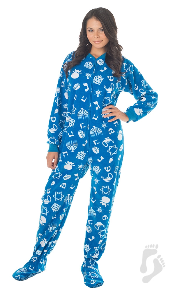 You most likely recall adult footed pajamas made