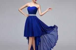 aliexpress.com : buy cheap price sweetheart royal blue bridesmaid dresses  high low bridesmaid dresses BZWCQXO