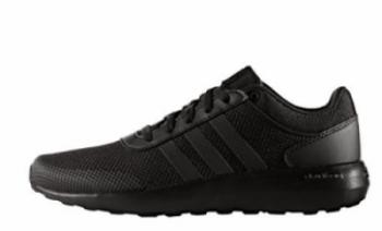 all black shoes 5. adidas cloudfoam race TQMMNRJ