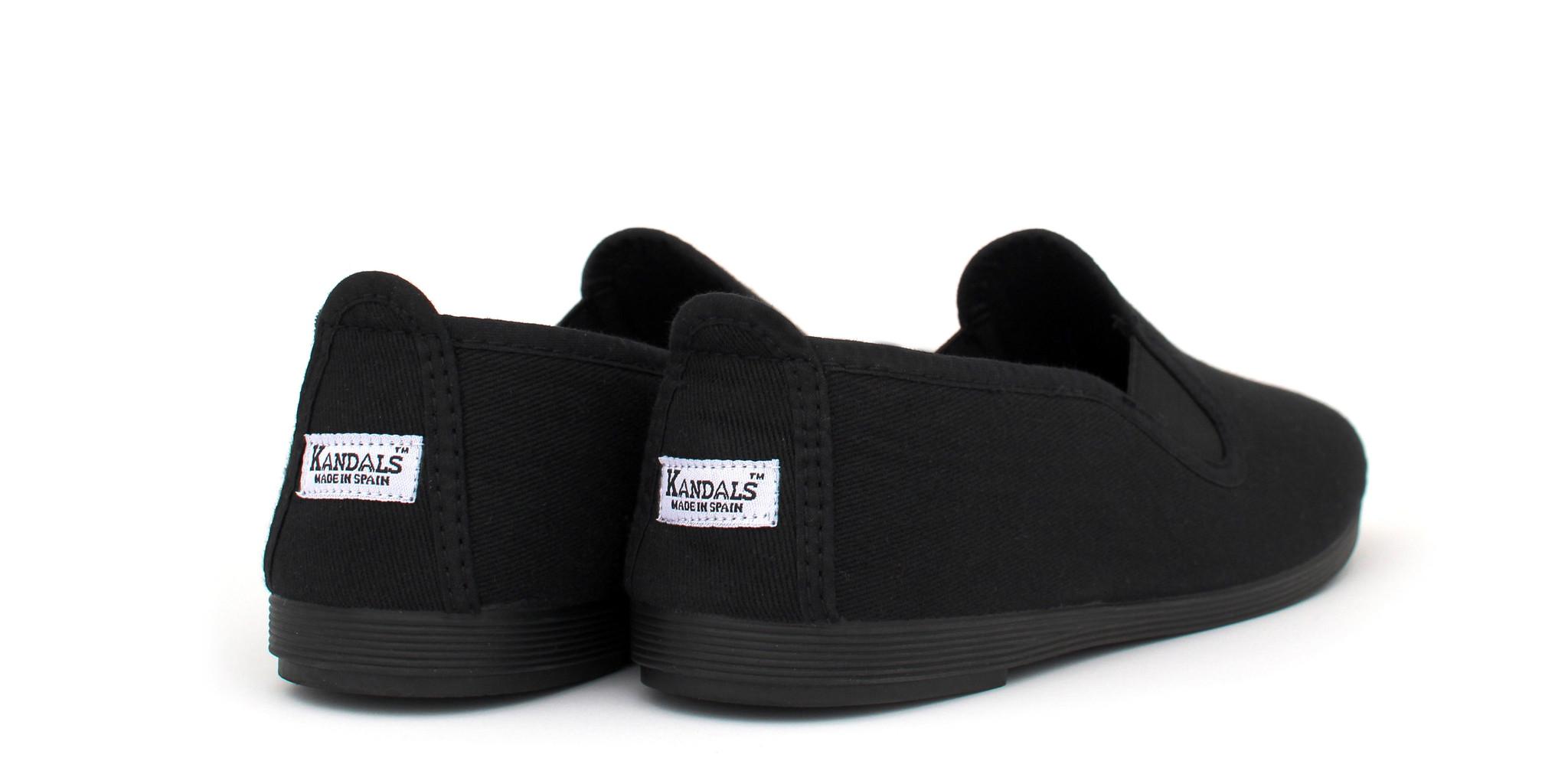 all black shoes ... kandals vegan shoes - eco all black ... NOZUCCQ