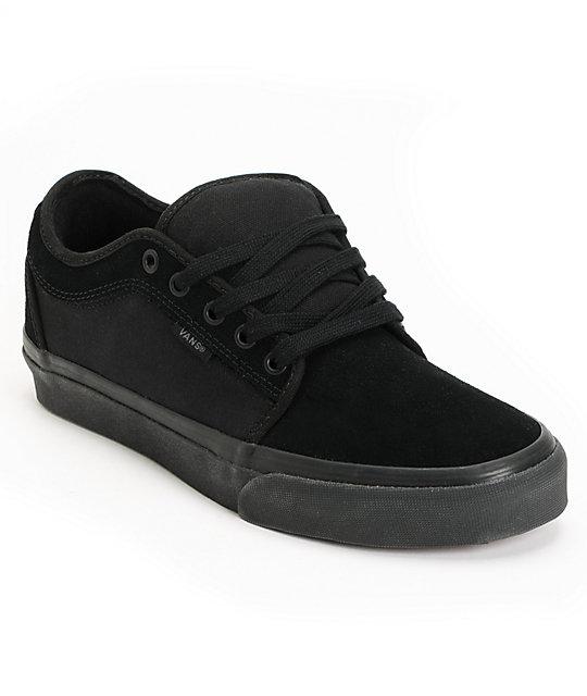all black shoes vans chukka low all black skate shoes LTZPMSZ