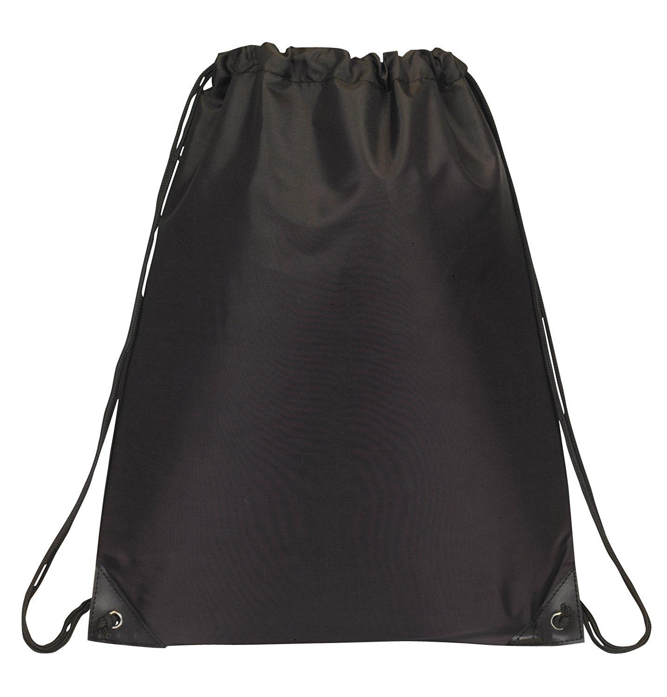 amazon.com | drawstring backpack bookpack bag, black | drawstring bags BBWKXZP