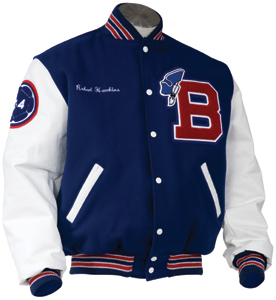 amr designs - letterman jackets and sweaters IXVTNSL