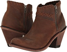 ankle boots for women old west boots - criss cross stitch ankle boot JKWGONZ