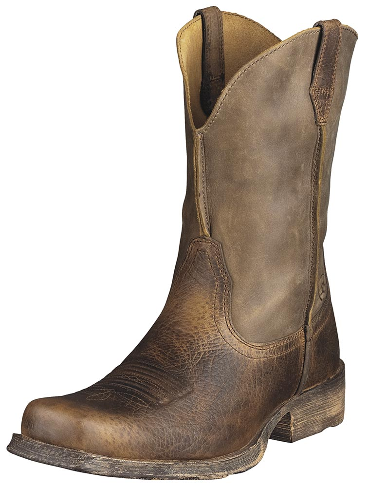 ariat boots ariat menu0027s rambler boots - earth/brown bomber QKBQBBK