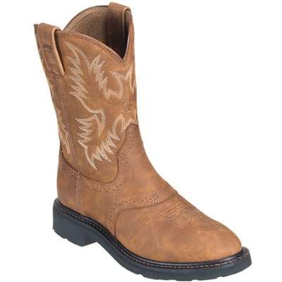 ariat boots: menu0027s steel toe eh cowboy work boots 35760 IEJFRDS