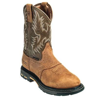 ariat boots mens pull on work boots ariat cowboy 10008633 FGAVGVK