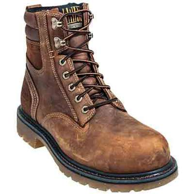 ariat work boots ariat boots: 10010140 menu0027s 8 inch aged bark boots CFZXNBX