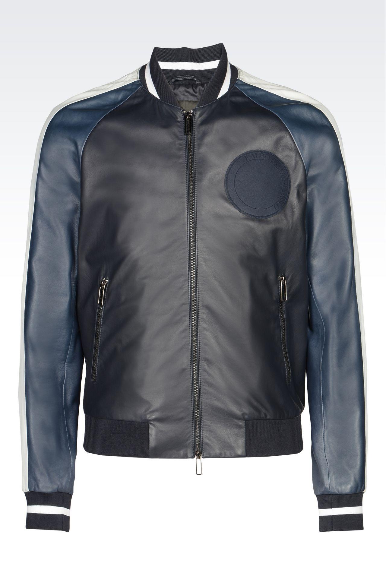 armani jackets armani light leather jackets men leatherwear VQOADNF