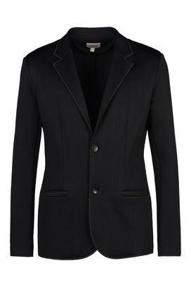 armani jackets armani two button jackets men two-button jacquard jacket AMLTBWZ
