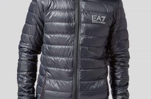 armani jackets emporio armani ea7 bubble hooded jacket | scotts menswear FWEBMDQ