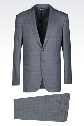 armani suit armani suits men wall street wool and silk suit CLKVYCB