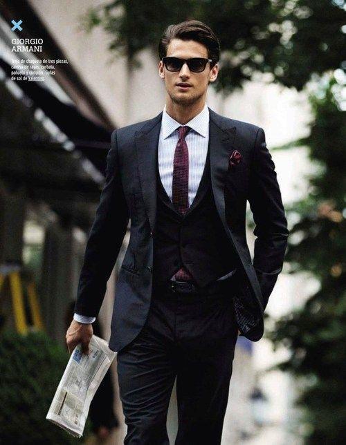 armani suit from maxtonmen on tumblr | gentlemenswear style | pinterest |  suits, style ETNMLFY