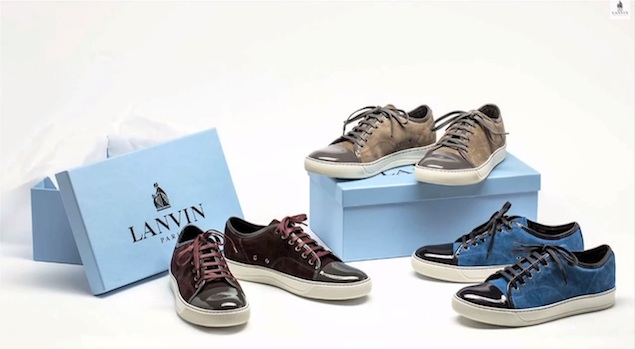 ask allen: what do you think of lanvin sneakers? | upscalehype PIKQFBJ