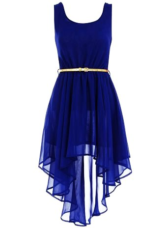asymmetric royal blue dress - belted dress for girls - valentineu0027s day dress  code SALNHSE