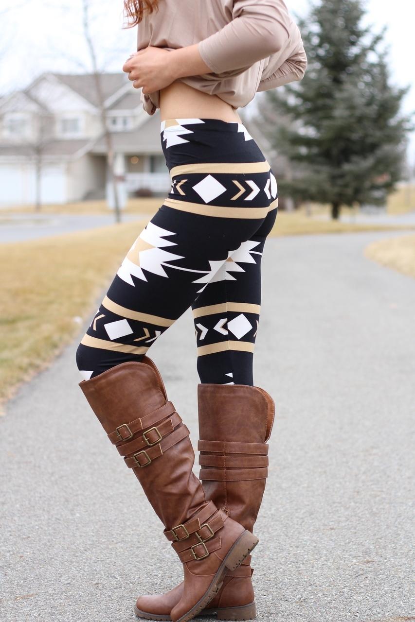 aztec leggings navajo aztec print leggings QMKYSMN
