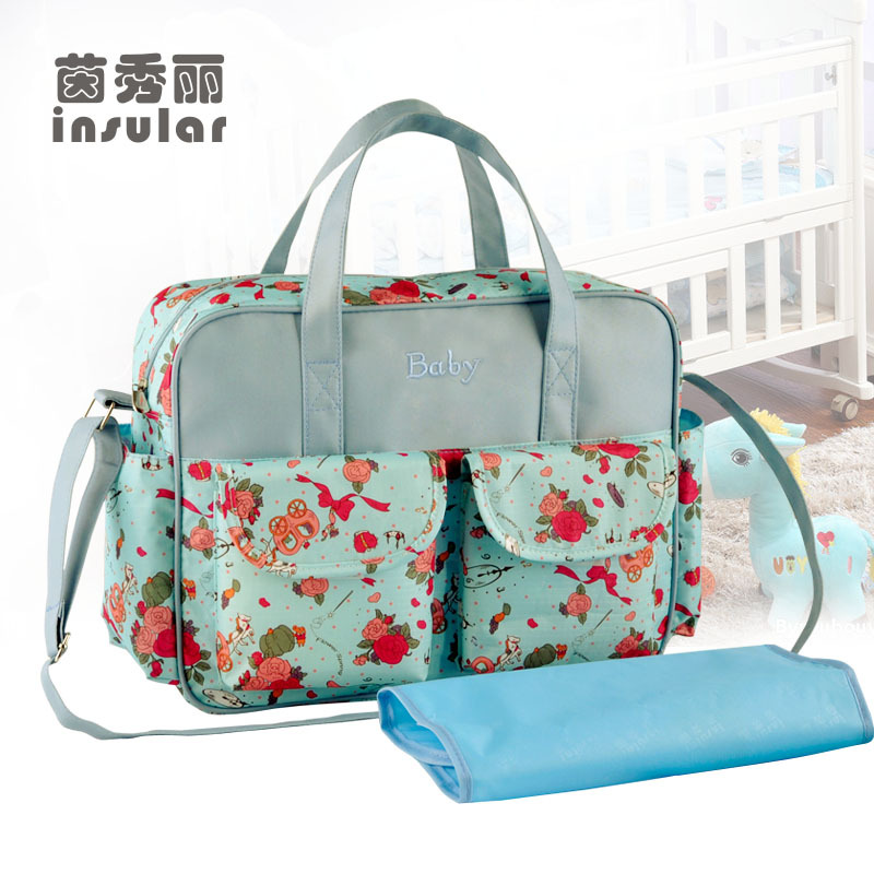 baby bags free shipping hot sale fashion large capacity baby diaper bag stylish fresh  mommy bag XQPHXZO