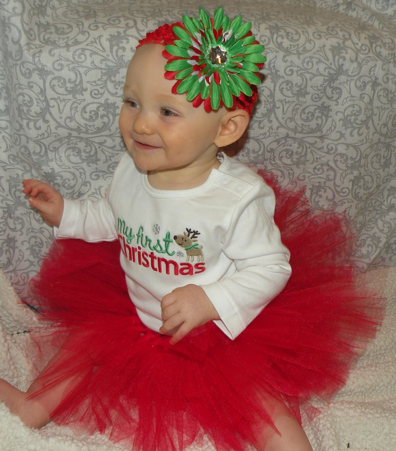 baby girl christmas outfits baby girl beautiful photos UHOOISU