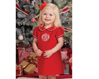 baby girl christmas outfits baby girl christmas dress, toddler monogrammed christmas dress, girl  christmas outfit, red corduroy XZXSZSR