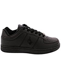 baby phat shoes baby phat - womens areil mono sneakers - black BVZZZND