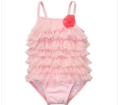 Baby Swimsuits ruffle swimsuit GDSJJPZ