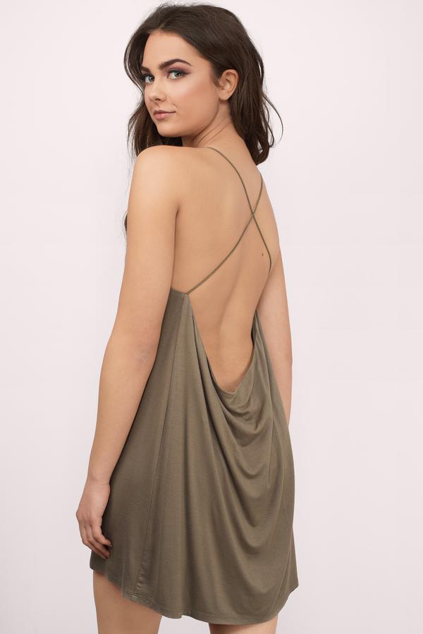 backless dress swing low black shift dress NOTJUMQ
