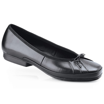 ballerina ii - black / womenu0027s - slip resistant dress shoes for women - SIYFRJF