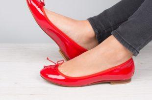 ballet flats : lu0027avion de chasse - lipstick red UFZQMVW
