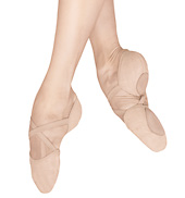ballet slippers adult elastosplit x canvas split-sole ballet shoes FLBKFLX